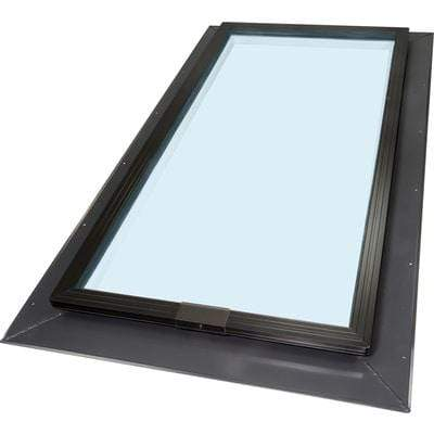 Self Flashing Fixed Tempered Skylight - Clear Glass
