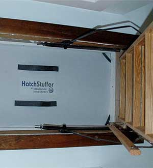 Attic Hatch Stuffer 22.5