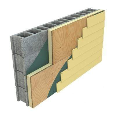 Hunter Panels XCI Ply Class A (5/8 Ply Attached) 4ft x 8ft - All Sizes Insulation