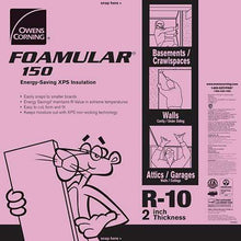 Load image into Gallery viewer, Owens Corning FOAMULAR 150 XPS 4ft x 8ft Insulation Board - All Sizes 2 in Owens Corning