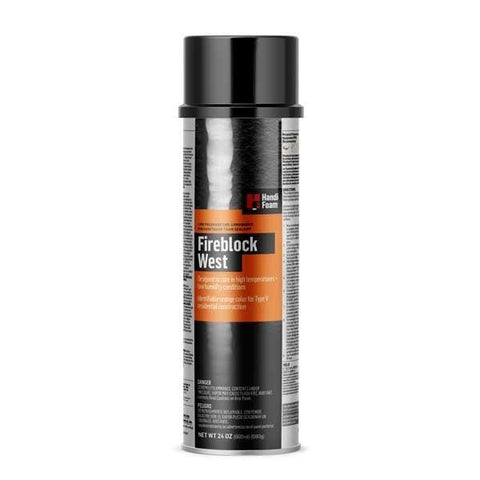 Handi-Foam Fireblock West Gun Foam Sealant 24 OZ (680G)