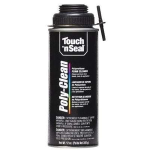 Poly-Clean Foam Cleaner (12oz.) 1 Case Canister Spray Foam Insulation