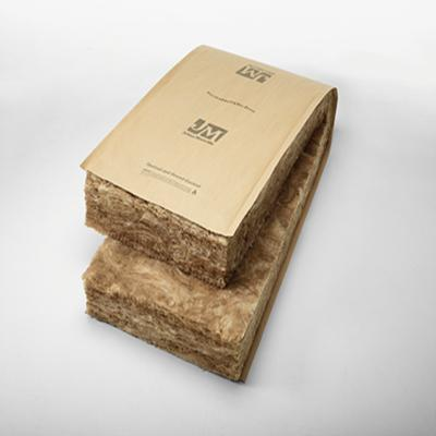 Johns Manville R-21 Kraft-Faced Fiberglass Insulation Batt - Wood Framing - All Sizes Batt