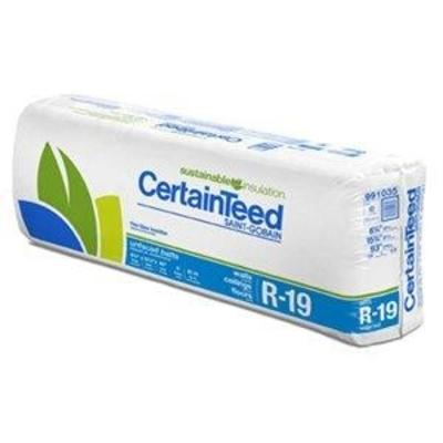 CertainTeed R19 Unfaced Batts - All Sizes CertainTeed