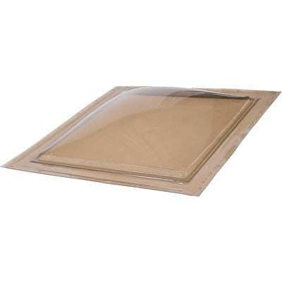 Self Flashing Fixed Impact Polycarbonate Skylight Bronze/Clear