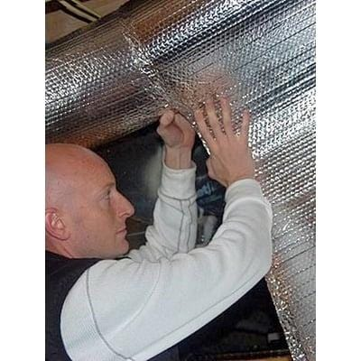 Image of Single Bubble Double Foil Reflective Insulation Rolls - All Sizes Single Bubble Wrap Insulation