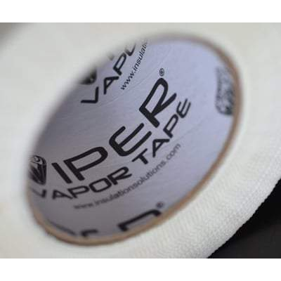 Viper Vapor Tape 180 ft White - All Sizes Insulation