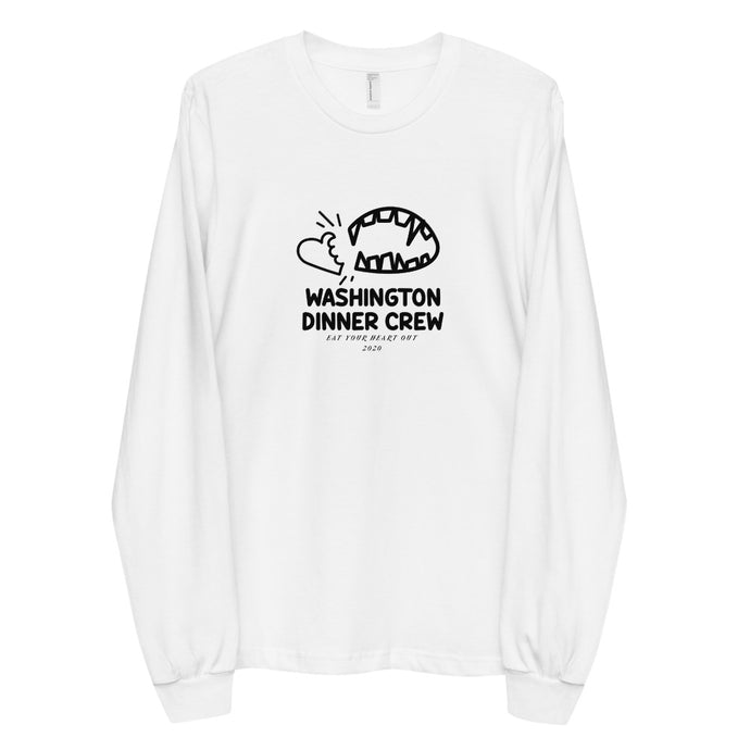 Washington Dinner Crew Long sleeve t-shirt