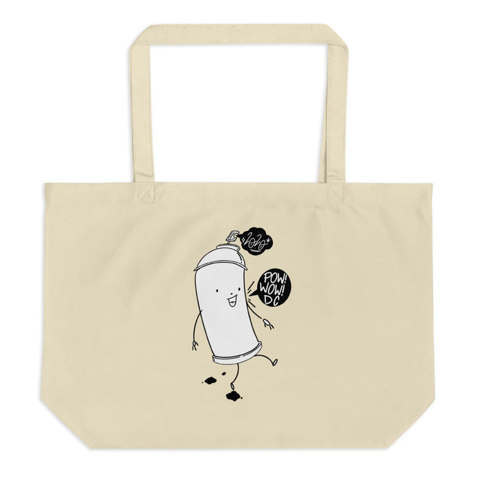 Can Buddy Large organic tote bag