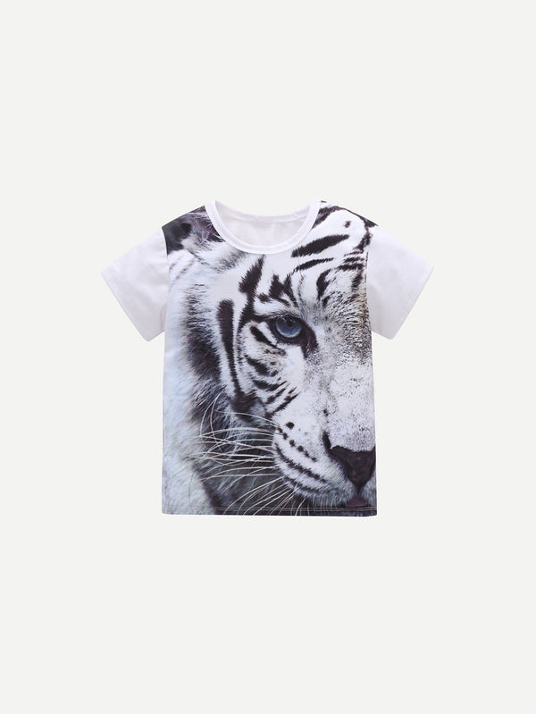 Fils Tee-shirt imprimé animal