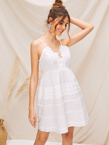 SHEIN Robe à fines brides