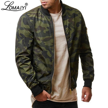 LOMAIYI grande taille 7XL hommes printemps Bombardier