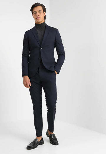 BASIC PLAIN SUIT SLIM FIT - Costume