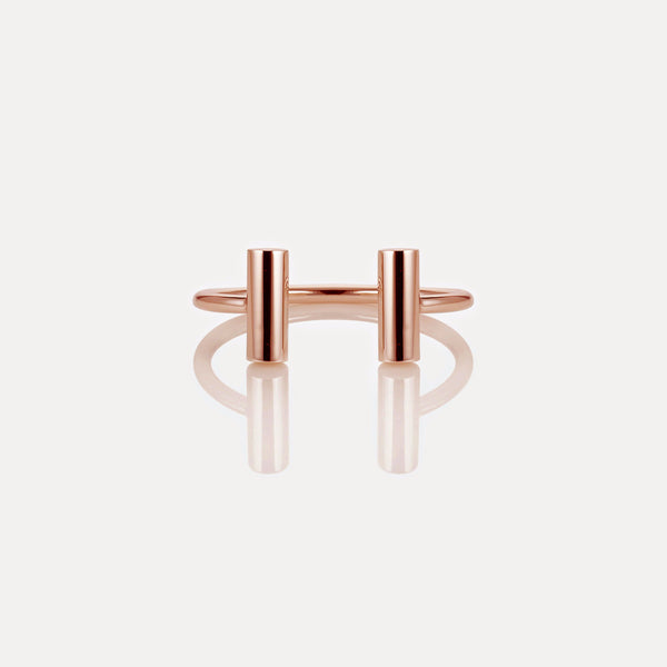 Single Rail Cuff Rose Gold
