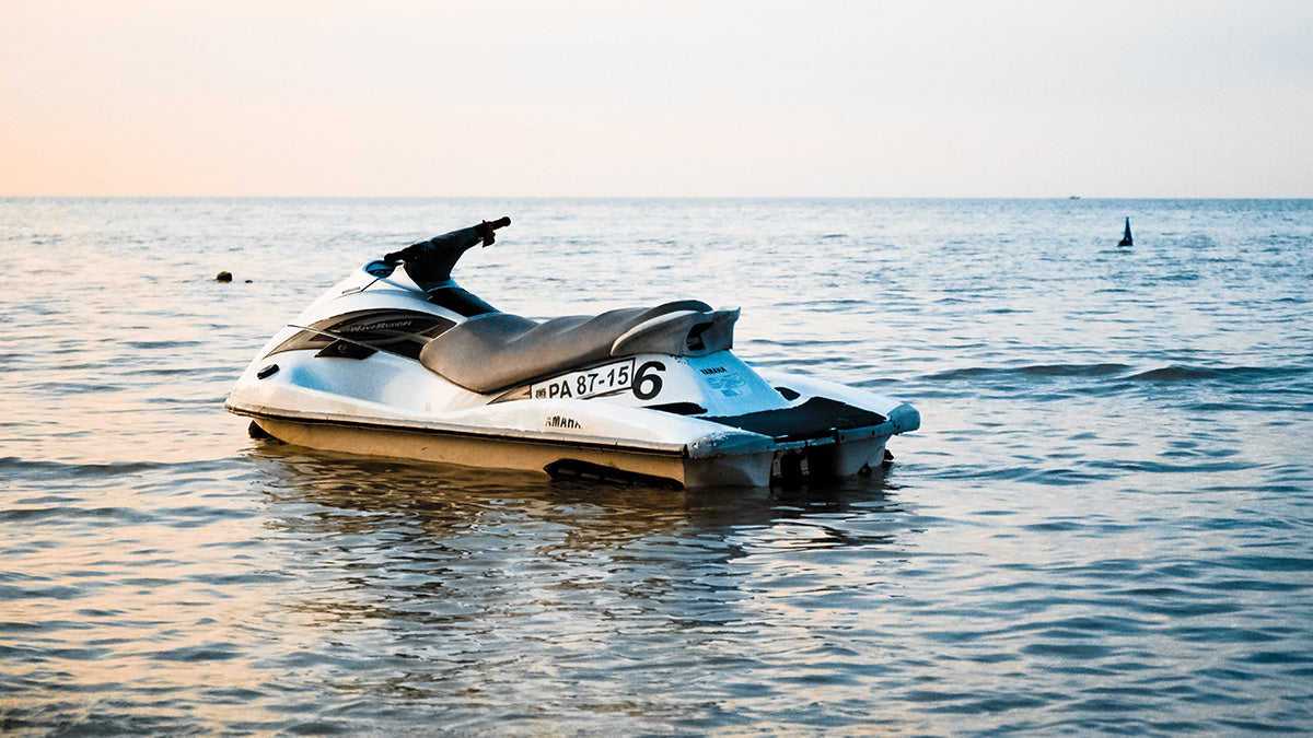 Jet Skiing is a popular activity on Gull Lake