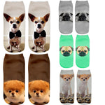 Fashion Socks with Cats and Dogs Designs