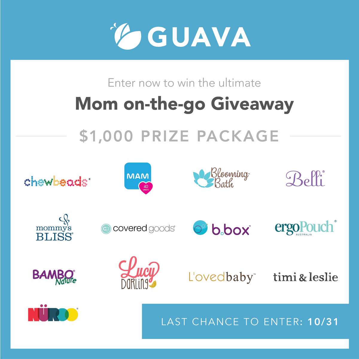 Mom on the Go Giveaway!