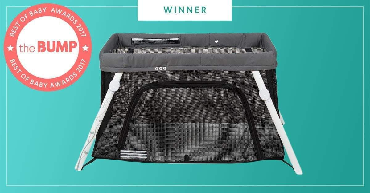 Lotus Everywhere Crib is a Best of Bump Winner!