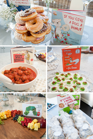 Storybook Themed Baby Shower Ideas Creative Baby Showers