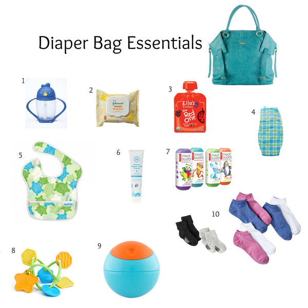 What Should Be In Your Diaper Bag Diaper Bag Supplies