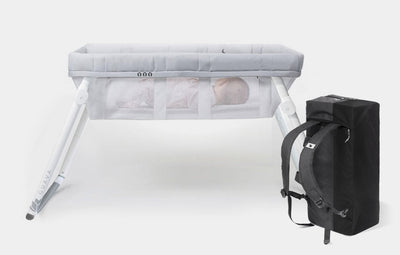 2-in-1 Convertible Bassinet + Crib Set