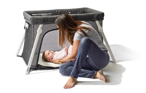 Lotus Everywhere Travel Crib Lightweight Travel Crib For
