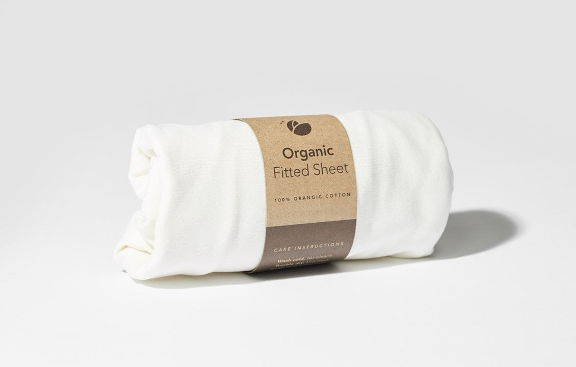 Organic Cotton Fitted Sheet For Lotus Everywhere Travel