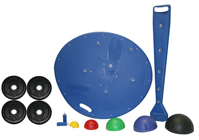 Professional Board, 5-Ball Set with Rack, 2 Weight Rods with Weights