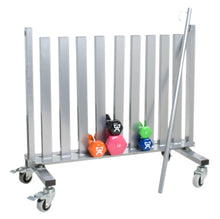 Load image into Gallery viewer, Dumbbell Mobile Studio Rack - 1100 lb Capacity