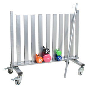 Dumbbell Mobile Studio Rack - 1100 lb Capacity