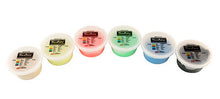 Load image into Gallery viewer, Exercise putty SET (6 pieces), 3 ounce - 1 of each