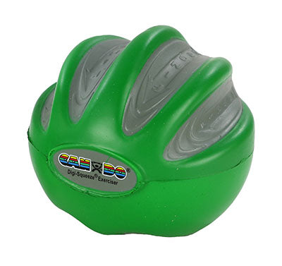 Digi-Squeeze hand/finger exerciser, medium, green, large