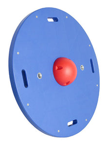 "16"" circular wobble/rocker board - 1.5"" height - red"