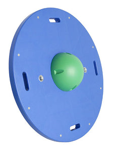 "16"" circular wobble/rocker board - 2"" height - green"