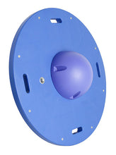 "Load image into Gallery viewer, 16"" circular wobble/rocker board - 2.5"" height - blue"