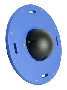 "16"" circular wobble/rocker board - 3"" height - black"