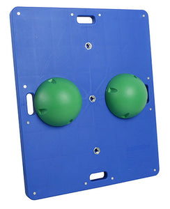 "15"" x 18"" wobble/rocker board - 2"" height - green"