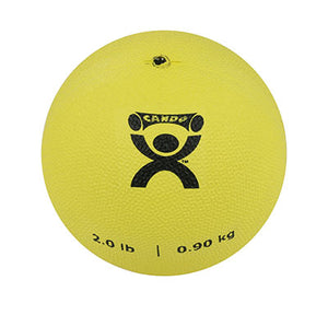 "Soft Pliable Ball - 5"" Diameter - Yellow - 2 lb"