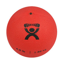"Load image into Gallery viewer, Soft Pliable Ball - 5"" Diameter - Red - 4 lb"