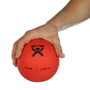 "Soft Pliable Ball - 5"" Diameter - Red - 4 lb"