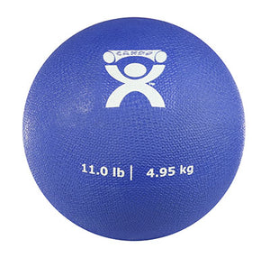 "Soft Pliable Ball - 7"" Diameter - Blue - 11 lb"
