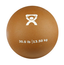 "Load image into Gallery viewer, Soft Pliable Ball - 9"" Diameter - Gold - 30 lb"