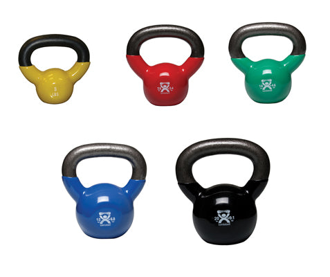 Kettlebells 5-piece set (1 each: 5, 7.5, 10, 15, 20 lb)