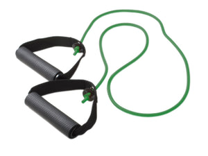"Tubing with Handles Exerciser - 48"" - Green - medium"