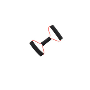 "Tubing BowTie™ Exerciser - 14"" - Red - light"