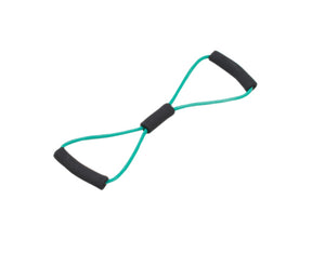 "Tubing BowTie™ Exerciser - 22"" - Green - medium"