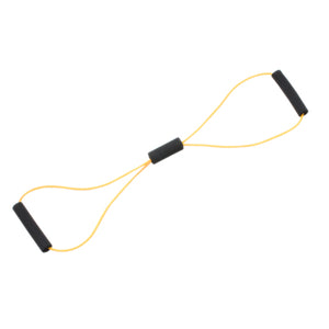 "Tubing BowTie™ Exerciser - 30"" - Yellow - x-light"