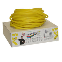 Load image into Gallery viewer, Latex Free Exercise Tubing - 100' dispenser roll - Yellow - x-light