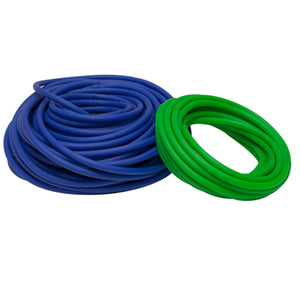 Latex Free Exercise Tubing - 100' dispenser roll - Green - medium