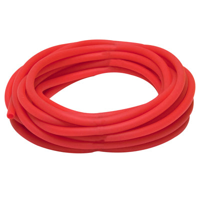 Latex Free Exercise Tubing - 25' roll - Red - light